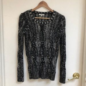 MADEWELL chunky knit sweater XS